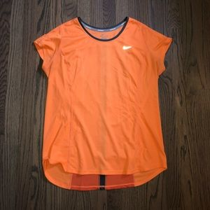 NIKE Dry Fit Tee Shirt Orange